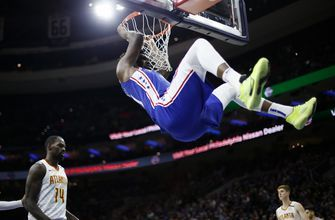 Embiid powers Sixers past Hawks 129-112