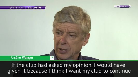 Wenger admits relief at not being asked opinion on next Arsenal manager