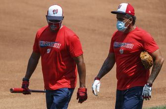 Nationals cancel workout because of COVID-19 testing delay