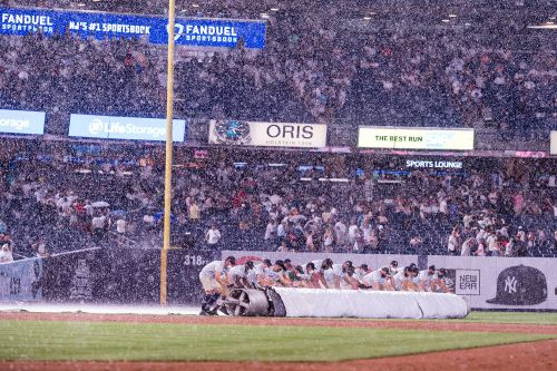 Yankees-Angels game postponed due to rainy forecast