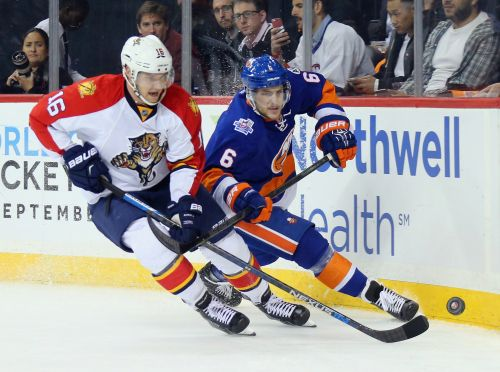 Islanders keep young defenseman in town for two more years
