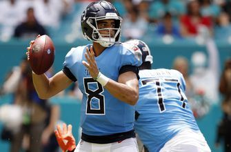 Mariota still dealing with weakness, numbing in throwing hand