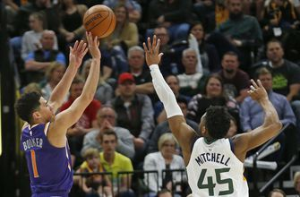 Booker scores 59, but Jazz rout Suns 125-92
