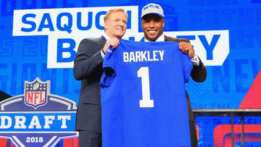 Giants' Saquon Barkley has NFL's top-selling jersey