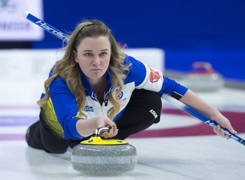 Canada's Carey wins twice at world curling championship