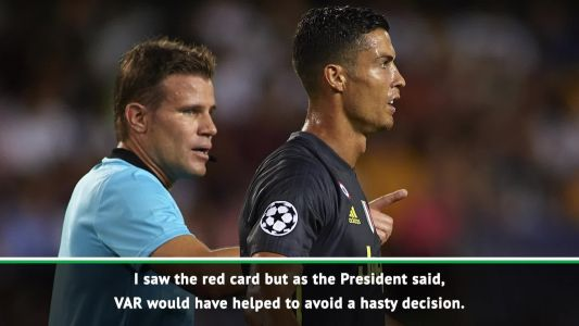 VAR would have absolved Ronaldo - Allegri