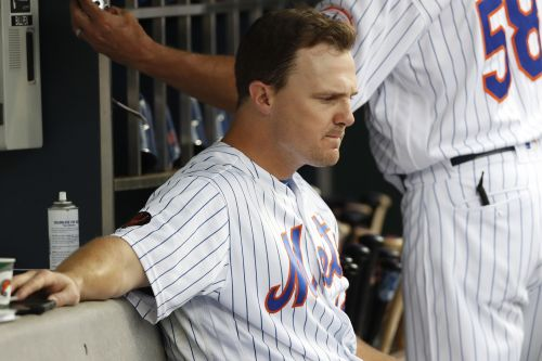 Jay Bruce had this off-day decision made for him