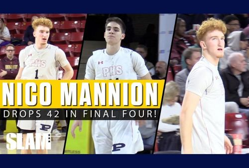 Nico Mannion ERUPTS For 42 Points in State Final Four 😈