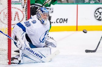 Andrei Vasilevskiy 2nd shutout in week fuels Lightning's 2-0 win over Stars