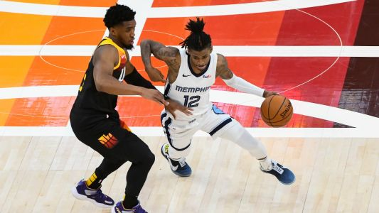 Donovan Mitchell praises Ja Morant after record-setting performance: 'I respect the hell out of his game'