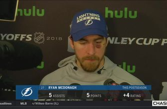 Ryan McDonagh says Capitals were the sharper team in Game 6