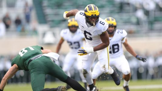 How Michigan football's Josh Uche went from benchwarmer to sack star