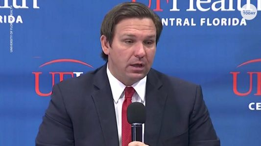 Florida Gov. Ron DeSantis pushes for college sports to play this fall