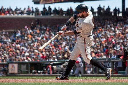 Giants first-baseman Belt hears from Torre for umpire comments