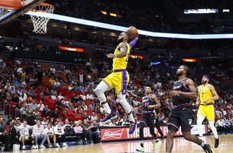 LeBron James scores 51 points, Lakers beat Heat