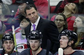 Hurricanes coach Brind'Amour 'moving on' after fined by NHL