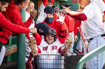 Michael Chavis belts two home runs for Red Sox in 10-2 win over Yankees