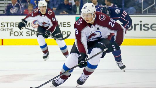 Colorado's Nathan MacKinnon sets franchise record for longest season-opening goal streak