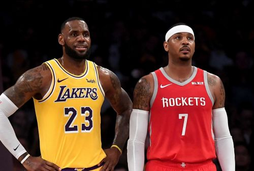 'It'd Be Great': LeBron Hopeful for Opportunity To Play with Carmelo