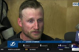 Steven Stamkos discusses Lightning comeback win, his 4-point night