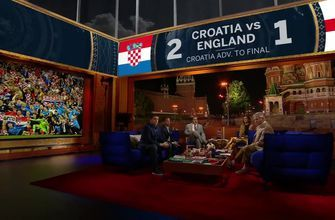 The World Cup Tonight crew talks about Croatia vs England | 2018 FIFA World Cup™ Tonight
