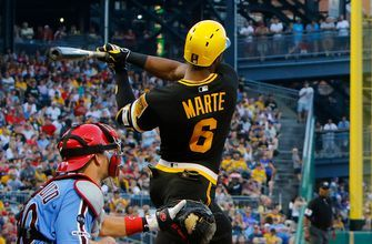 Starling Marte tallies two doubles, three total hits and an RBI in Pirates 5-1 win