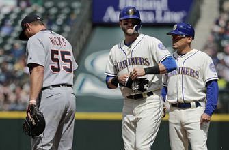 Mariners rally late, beat Tigers 3-2 in 12 on Segura's hit