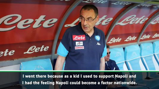 Moving to a rival not an option after Napoli - Sarri