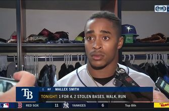 Mallex Smith on Blue Jays' critical 9th-inning blooper that fell with 2 outs