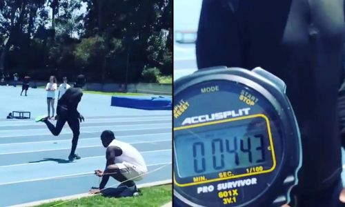 Terrell Owens still has speed, runs 4.43 40 on video