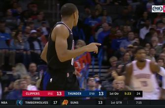 HIGHLIGHTS: Clippers 4th quarter comeback falls short in OKC
