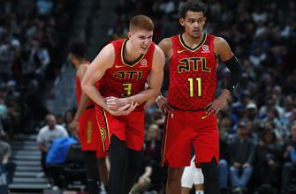 Huerter heads back to Atlanta after injuring shoulder