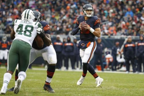 Bears' Nagy 'optimistic' Trubisky will play vs. Lions