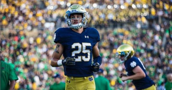 Notre Dame WR Braden Lenzy Announces That He Is Quitting Track To Focus On Football