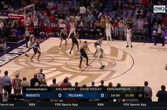 HIGHLIGHTS: Anthony Davis, Nikola Mirotic Lead Pelicans over Nuggets