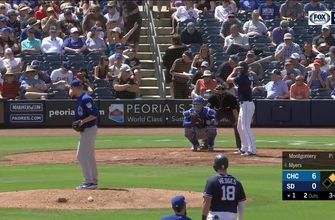 HIGHLIGHTS: Padres lose to Cubs 24-6 in spring game