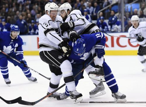 Dion Phaneuf has become good influence on Kings star Drew Doughty