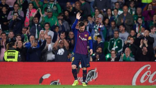 Lionel Messi routinely delivers magic for Barcelona but his third goal vs. Betis was interstellar