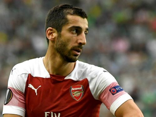 Mkhitaryan in fresh fight to prove his worth at Arsenal after Man United misery