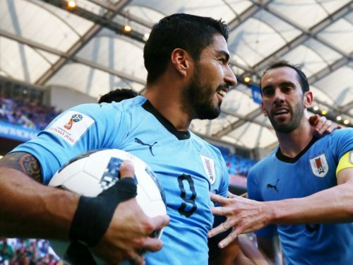 Uruguay 1 Saudi Arabia 0: Centurion Suarez strikes to send La Celeste, Russia through