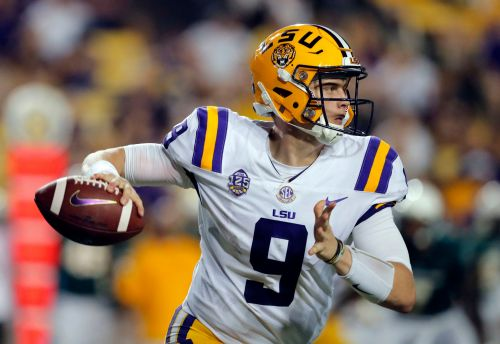 No. 6 LSU buoyed by Burrow's intangibles, if not his stats
