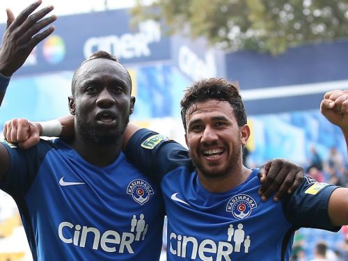 Kasimpasa 'not decided' on exits for Mbaye Diagne, Mahmoud Trezeguet