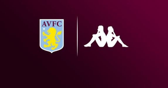 Official: Kappa to partner with Aston Villa until 2022