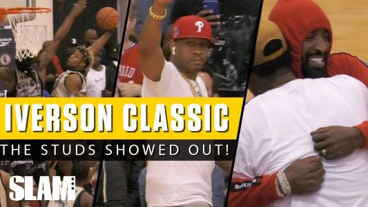 Kahlil Witney and Isaiah Wong Both Drop 40 in front of NBA Stars at Iverson Classic!