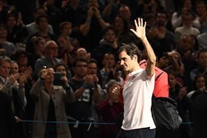 Roger Federer taking the positives out of semi-final defeat to Novak Djokovic: 'It was definitely worth it to come to Paris'