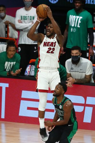 Jimmy Butler comes through in clutch as Heat takes Game 1 vs. Celtics in overtime