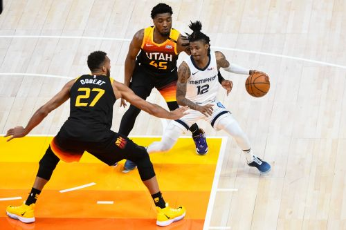 Ja Morant's record night not enough for Grizzlies against Jazz in Game 2
