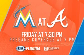 Preview: Marlins begin road trip against division-leading Braves