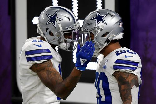 Cowboys end four-game losing streak with late touchdown to upset Vikings
