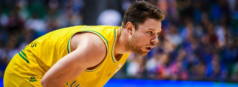 Australia's Matthew Dellavedova: ''We're excited to show what we can do on the world stage''